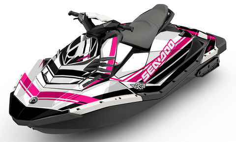 Classic Magenta Sea-Doo Spark - SCS Unlimited