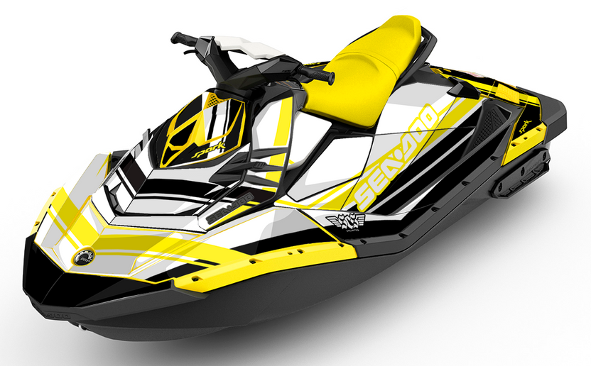 Classic Yellow Sea-Doo Spark - SCS Unlimited