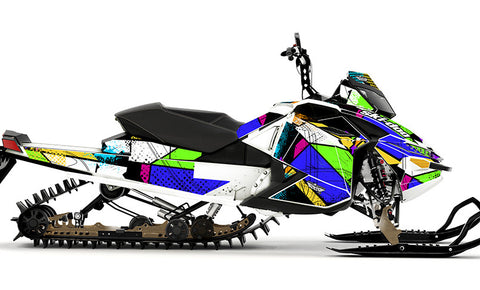 Color Burst Sled Wraps - SCS Unlimited