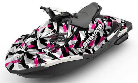 Cubism Dream Magenta Sea-Doo Spark - SCS Unlimited