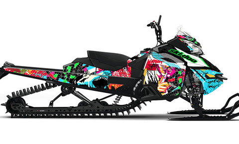Danger Ski-Doo REV-XM Sled Wrap - SCS Unlimited
