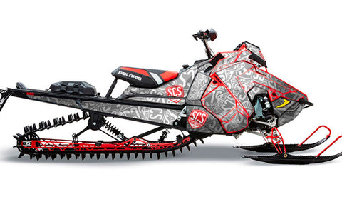 Defender | Polaris AXYS Snowmobile Sled Wraps & Graphics