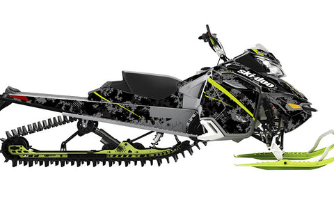Digi Camo Ski-Doo REV-XM Sled Wrap - SCS Unlimited