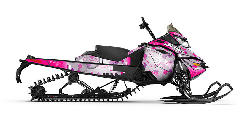 Disco Tech Ski-Doo REV-XM Sled Wrap - SCS Unlimited