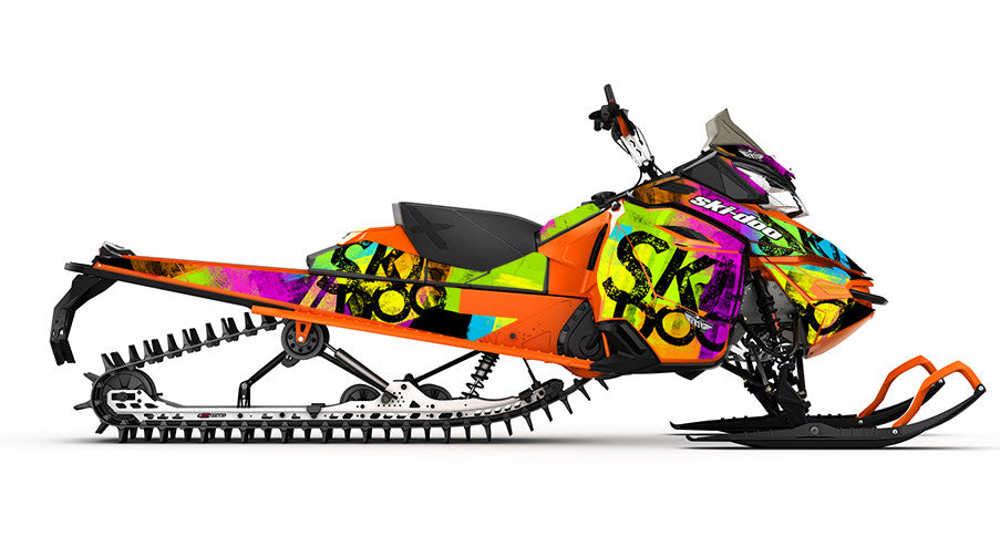 Doo Roller Ski-Doo REV-XM Sled Wrap - SCS Unlimited