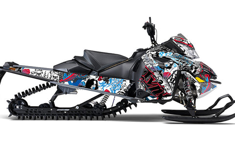 Doodle Bot Sled Wraps - SCS Unlimited