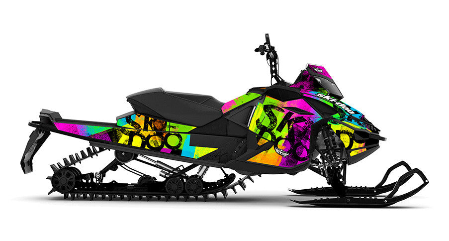 Doo Roller Sled Wraps - SCS Unlimited