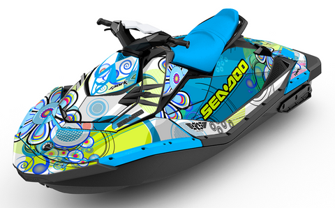 Farout Sea-Doo SPARK Graphics Kit