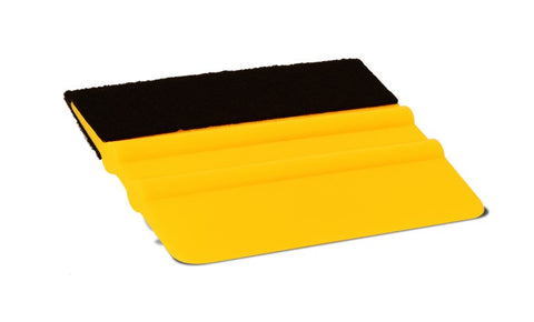 Yellow Felt Squeegee  - SCS Unlimited