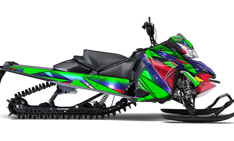 Floored LYNX REX2 Sled Wraps