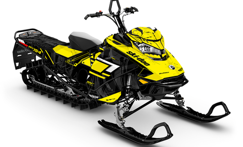 Force Ski-Doo Gen4 Sled Wrap - SCS Unlimited