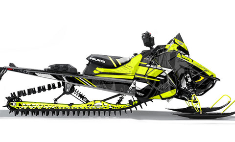 Force | Polaris AXYS Snowmobile Sled Wraps & Graphics