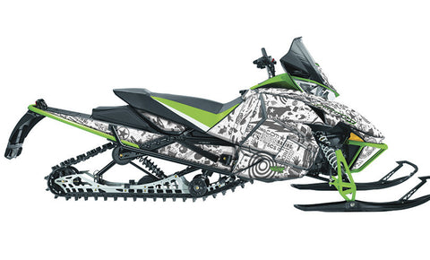 For the Riders  Arctic Cat Pro Climb Sled Wraps
