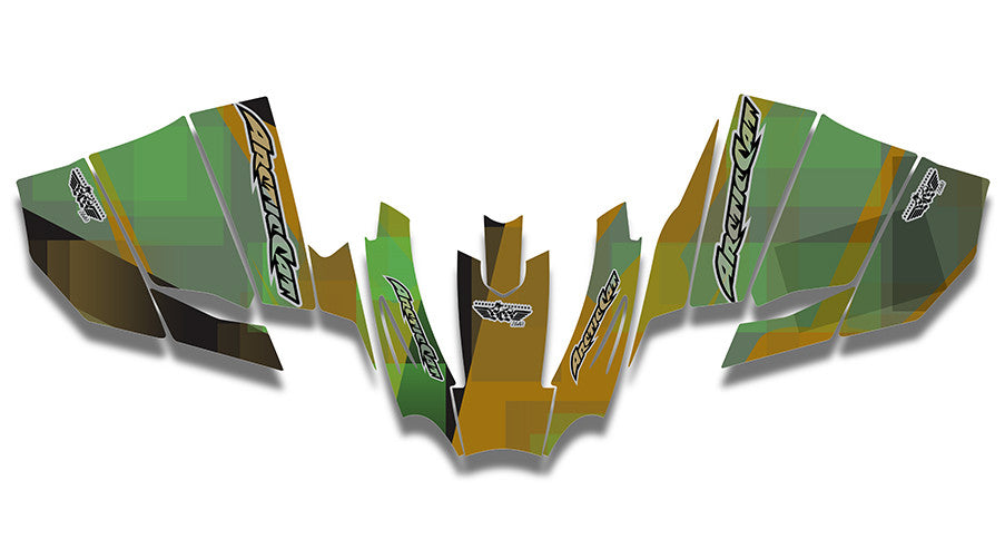 Fragment Sled Wraps - SCS Unlimited