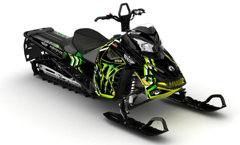 Frisby Monster LYNX REX2 Sled Wraps