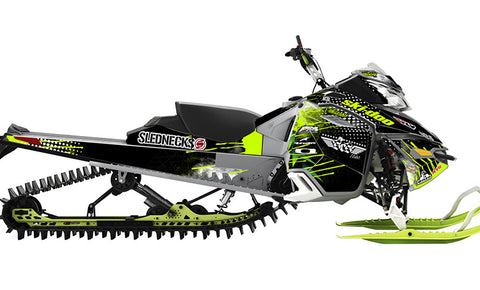 Heath Frisby Backlash REV-XM Sled Wrap Decal