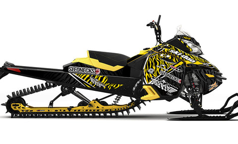 Frisby Zebra REV-XM Sled Wrap Decal