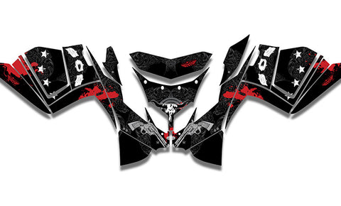 Gunslinger IQ Race Sled Wraps