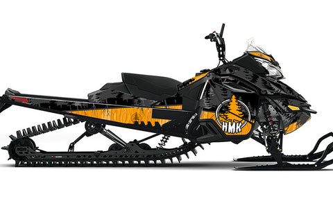 HMK Stamp REV-XM Sled Wrap Decal