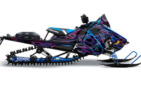 Hot Rod | Polaris AXYS Snowmobile Sled Wraps & Graphics