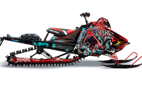 Hold Strong | Polaris AXYS Snowmobile Sled Wraps & Graphics