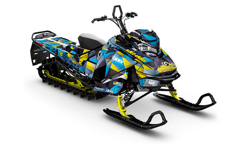 Jay Mentaberry Crusher Ski-Doo Gen4 Sled Wrap - SCS Unlimited