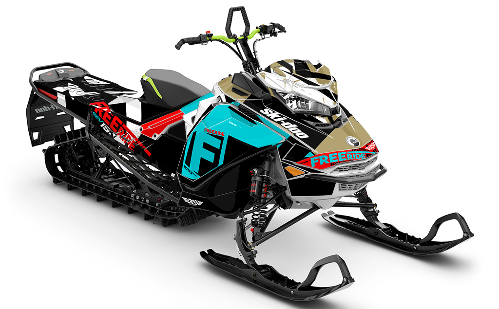 jdub Ski-Doo Gen4 Sled Wrap - SCS Unlimited