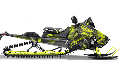 Kodiak | Polaris AXYS Snowmobile Sled Wraps & Graphics