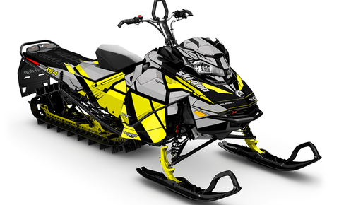 Locator Ski-Doo Gen4 Sled Wrap - SCS Unlimited