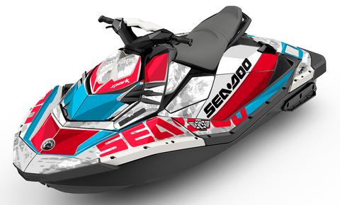 Lowdown Sea-Doo SPARK Graphics Kit