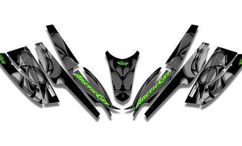 Malleable Skin Arctic Cat Sno Pro Sled Wraps