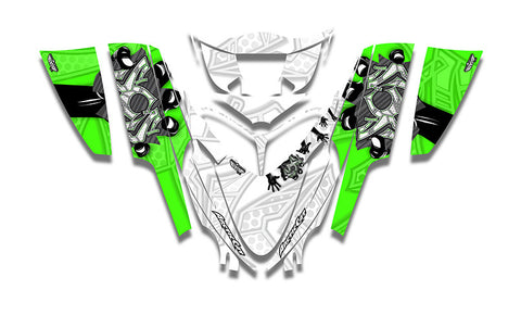 Man Down Arctic Cat M-Series Crossfire Sled Wraps