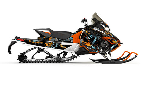 Max REV-XS Sled Wrap Decal