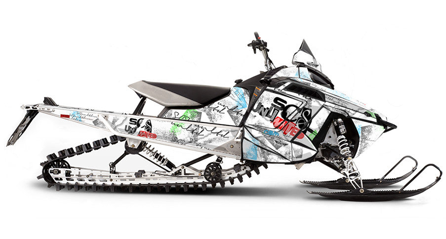 Mental Ward PRO-RMK Sled Wraps Decals