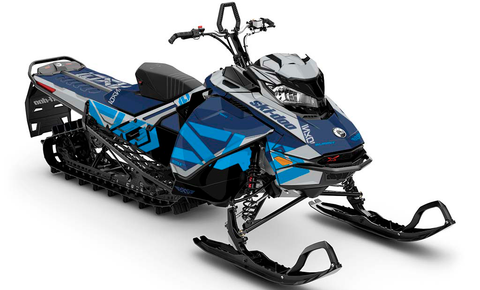 Mixer Ski-Doo Gen4 Sled Wrap - SCS Unlimited