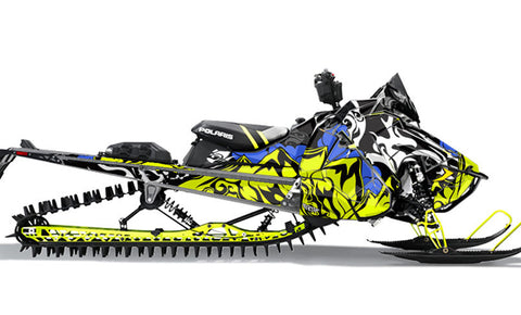 MTN | Polaris AXYS Snowmobile Sled Wraps & Graphics