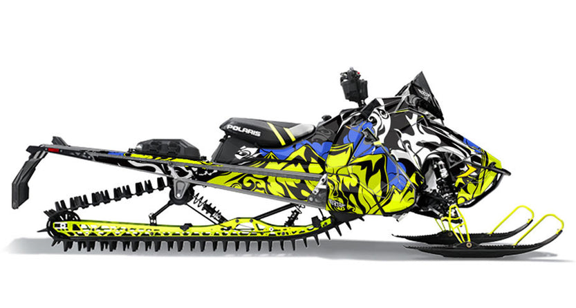 Mtn Polaris Axys Rmk Sled Wraps Scs Unlimited