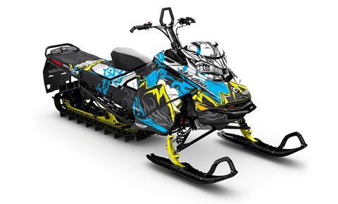 MTN Ski-Doo Gen4 Sled Wrap - SCS Unlimited