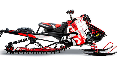 Negative Space | Polaris AXYS Snowmobile Sled Wraps & Graphics