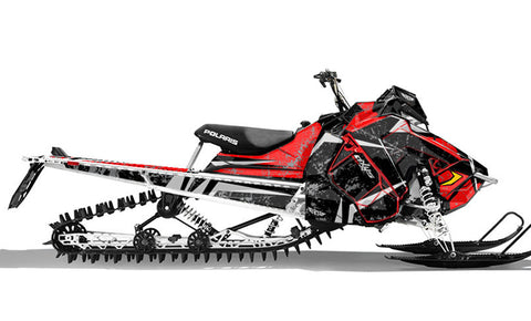 Nimble | Polaris AXYS Snowmobile Sled Wraps & Graphics