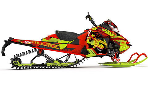 Nomad REV-XM Sled Wrap Decal