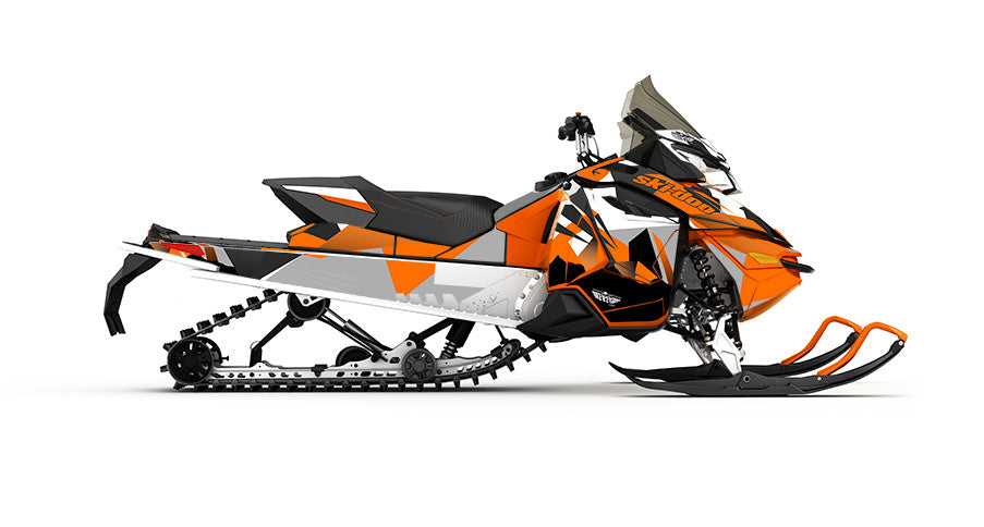 Nomad REV-XS Sled Wrap Decal