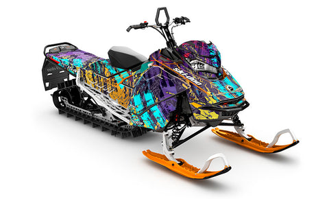 North Line Ski-Doo Gen4 Sled Wrap - SCS Unlimited
