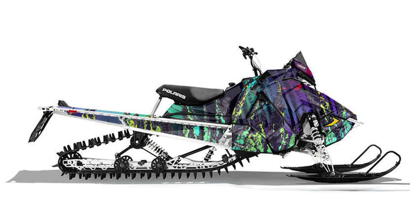 North Line | Polaris AXYS Snowmobile Sled Wraps & Graphics