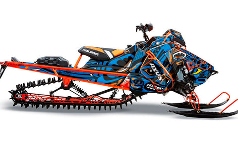 Northwestern | Polaris AXYS Snowmobile Sled Wraps & Graphics