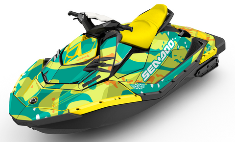 Nudibranch Sea-Doo SPARK Graphics Kit