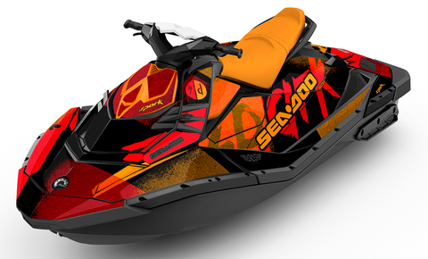 Offshore Sea-Doo Spark Graphics - SCS Unlimited