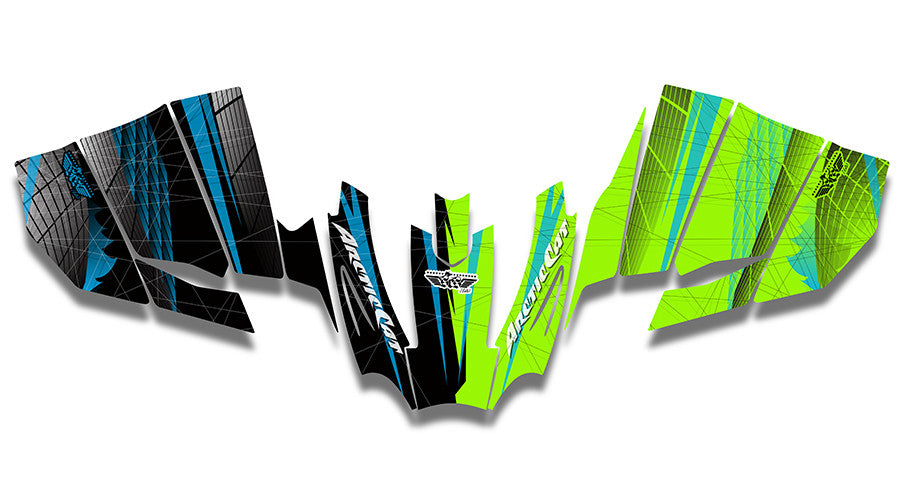 Off the Grid Arctic Cat Sno Pro Racer Sled Wraps