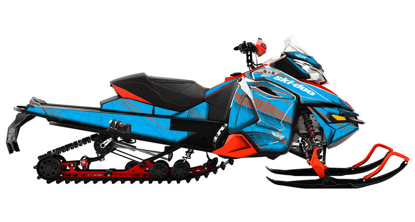 Off the Grid REV-XS Sled Wrap Decal