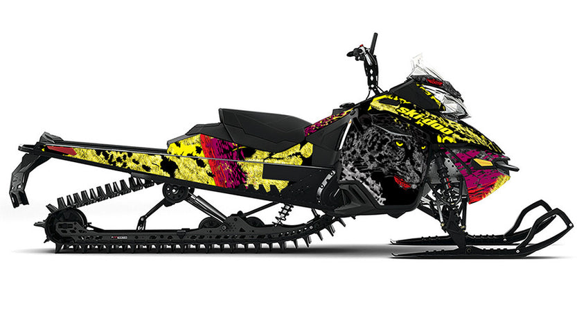On the Prowl REV-XM Sled Wrap Decal